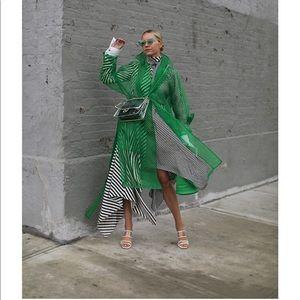 Zara organza trench coat, Bloggers favorite